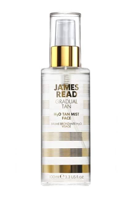 Спрей для лица – освежающее сияние H2O James Read H2J