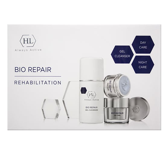 BIO REPAIR KIT (gel cleanser 125, day 50, night 50) набор