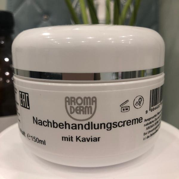 Nachbehandlungscream mit Kaviar Aromaderm
